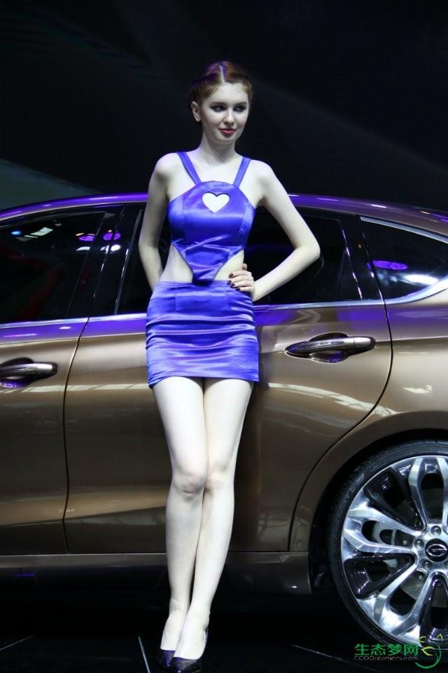 2014年北京车展模特